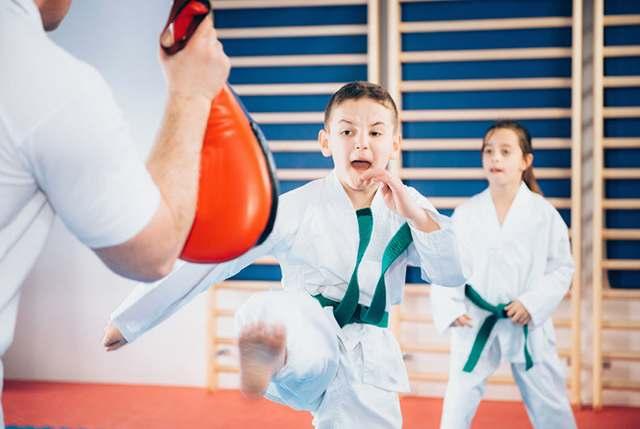 Carpentersville preschool training in martial arts classes