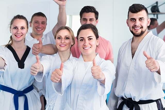 adult martial arts lesson in Carpentersville