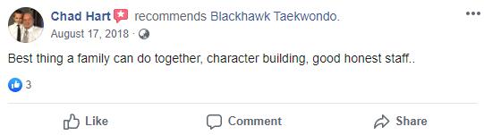 Adult1, Blackhawk TaeKwonDo Carpentersville