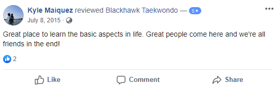 Adult4, Blackhawk TaeKwonDo Carpentersville