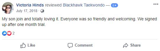 Afterschool3, Blackhawk TaeKwonDo Carpentersville