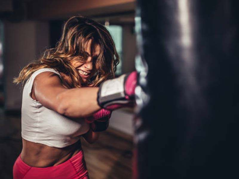 Carpentersville Women's Self Defense training in martial arts classes
