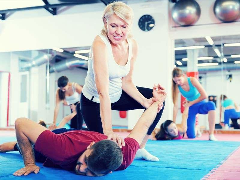 Carpentersville martial arts class for Women's Self Defense
